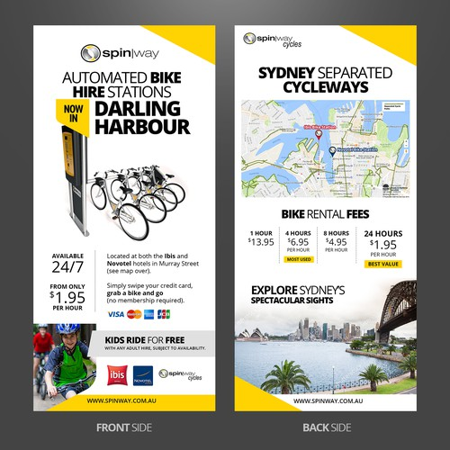 Spinway Double SIded Mini Flyer