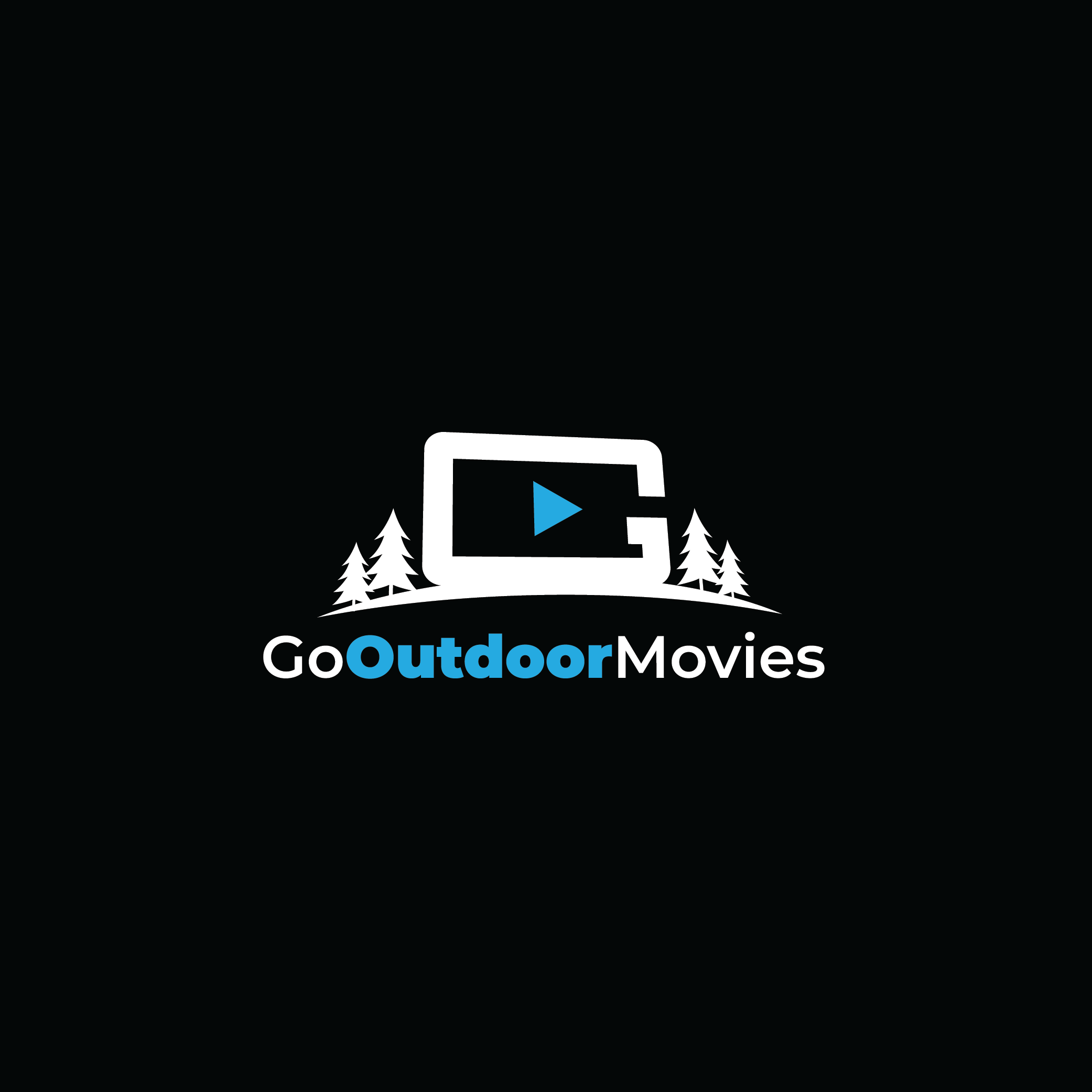 Fun and Simple Logo for an Outdoor Movie Company