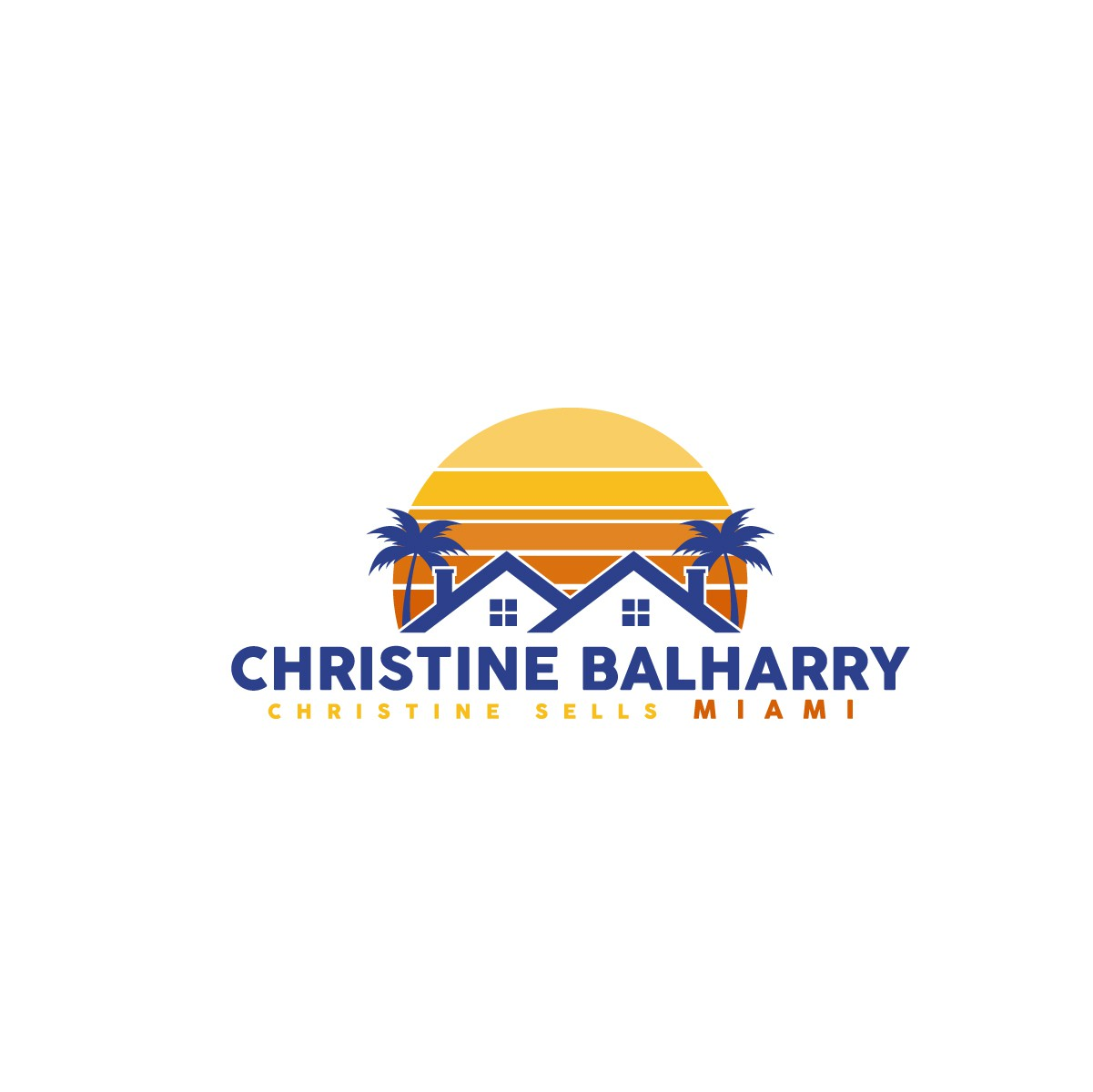 Create a Miami Vice Vibe for a Miami Real Estate Agent : Christine Sells Miami