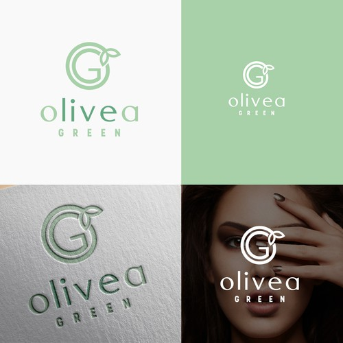 Logo for organic beauty products.