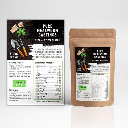 Packaging design for the fertilizer