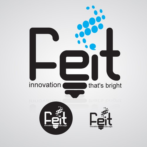 Feit LED Electric Logo Design