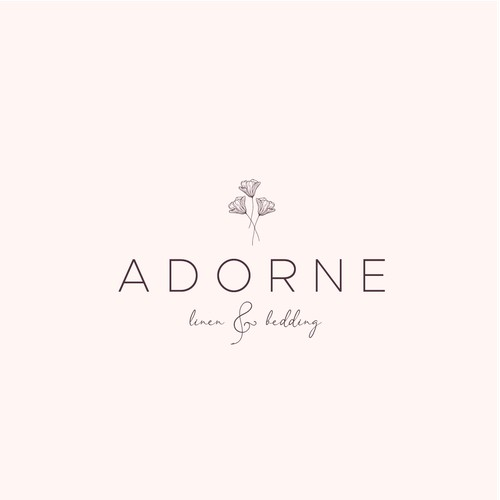 Logo concept for adorne