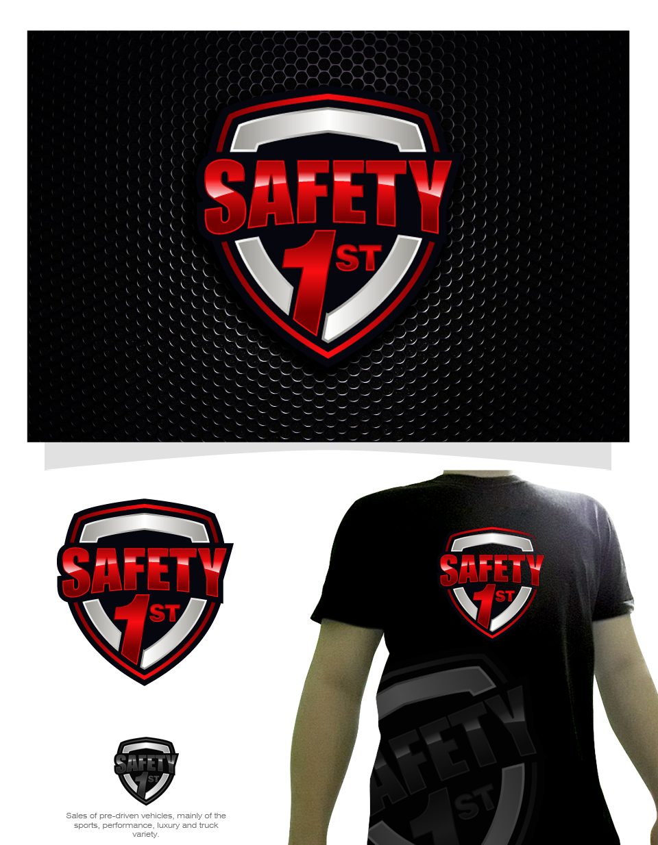 Safety 1st logo for visibility on our nation's highways!