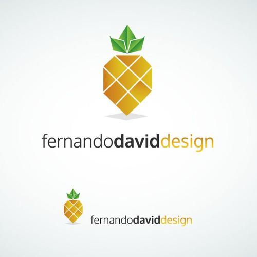 Pineapple logo concept