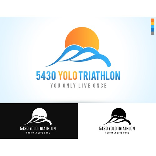 YOLO Triathlon - You Only Live Once ... Logo Needed!