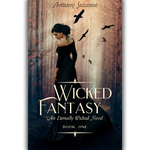 Wicked Fantasy Book Cover