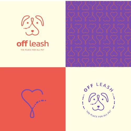 Pets shop Logo & branding