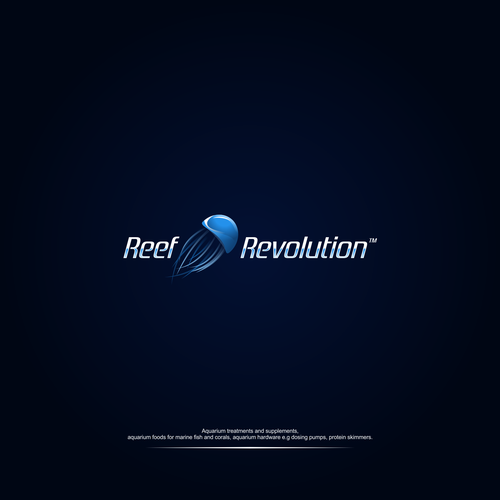 Logo concept of Reef Revolution