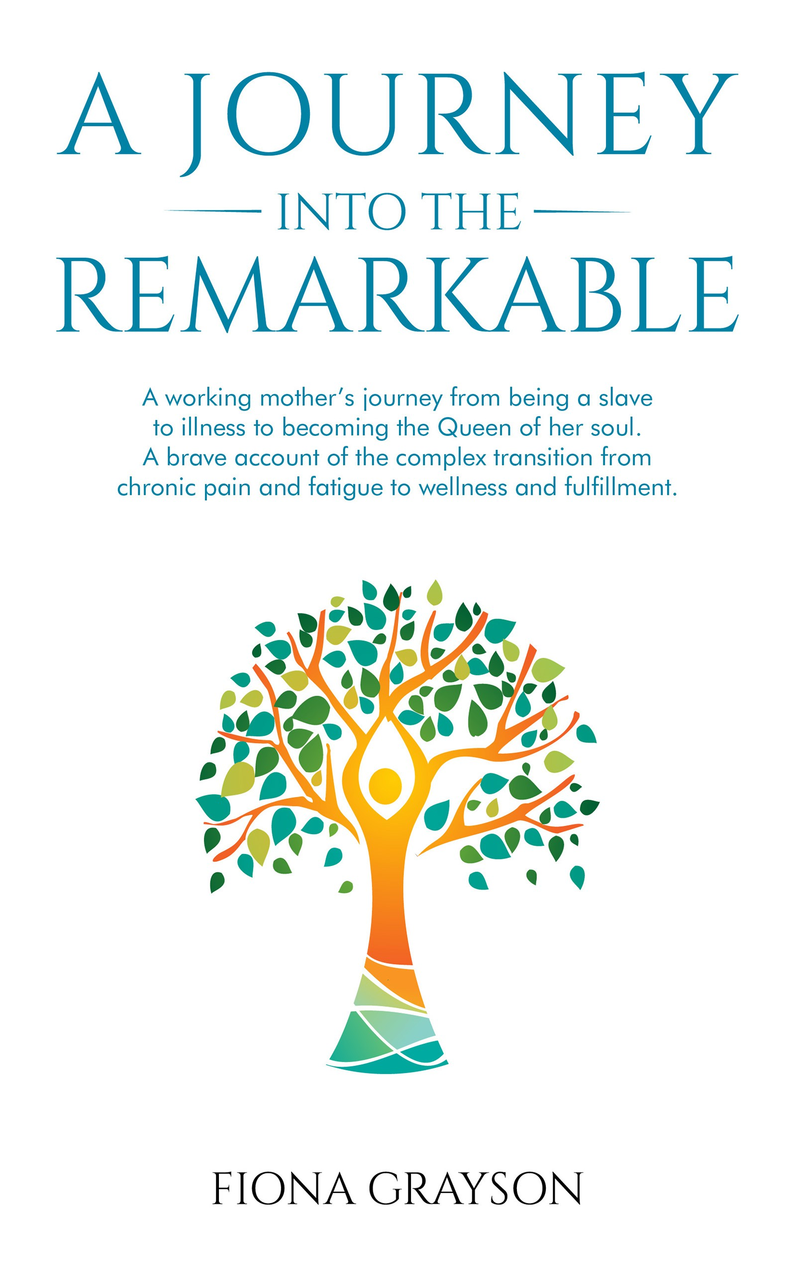 Design a cover of a working mother on the brink of suicide and her journey back to wellness