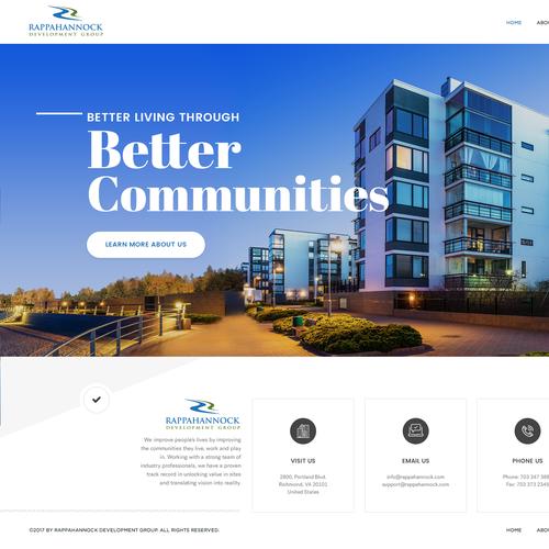 Real Estate Website concept