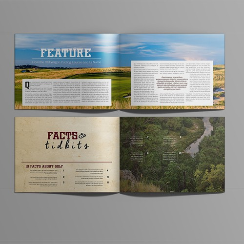 Magazine for US golf course