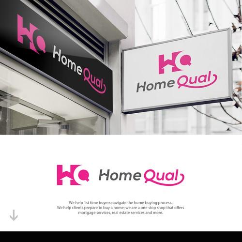 Modern Logo Design for HomeQual