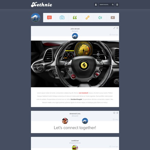 Responsive Social Networking Website Design (Guaranteed)