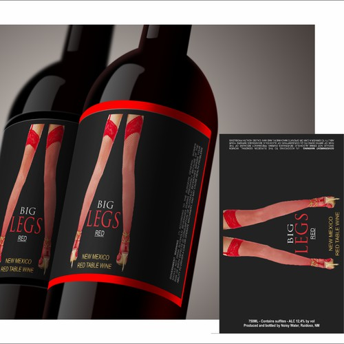 Design label Noisy Water Winery