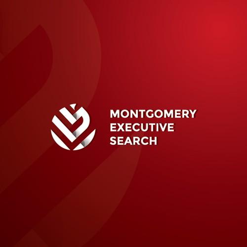 Monogram logo design for M E S