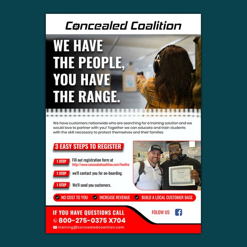 Concealed Coalition flyer
