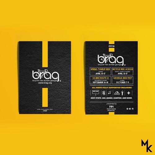 BRAG - flyer/ticket