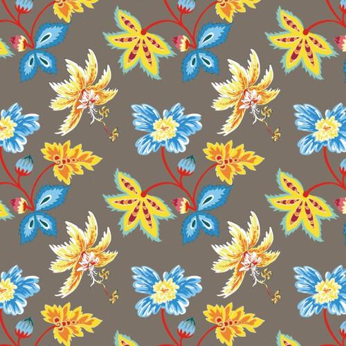 Design a fun cartoon-inspired pattern