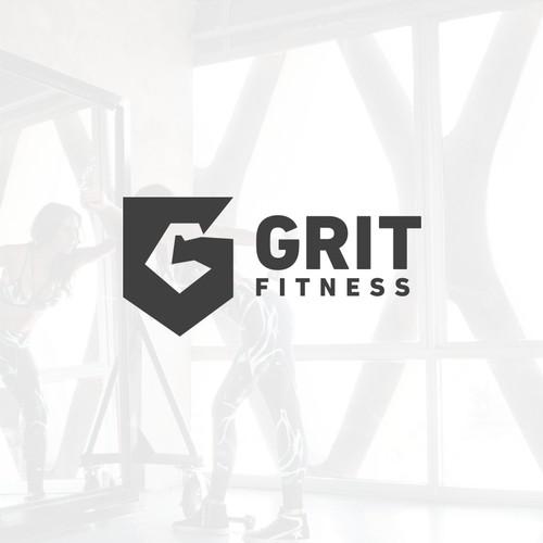 Logo for grit fitness