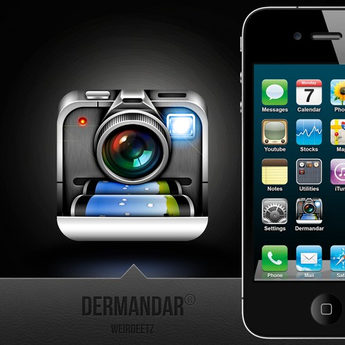 A new panoramic photography iPhone app needs an icon
