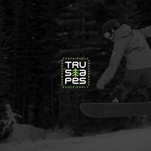 ecofriendly snowboards - creating the brand ID