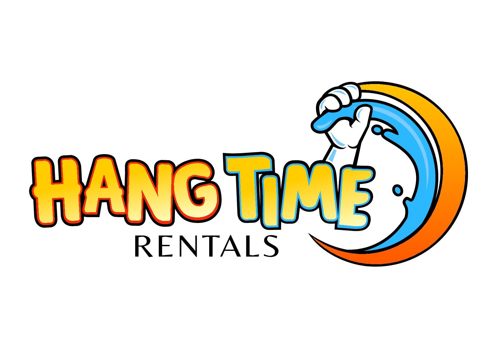 Hang Time Rentals Logo Needed