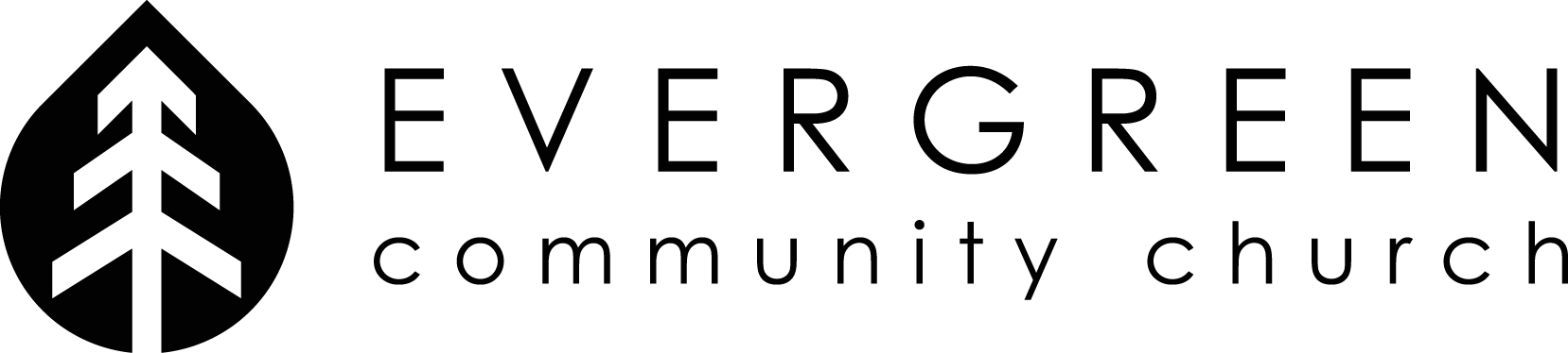 Create a modern, welcoming logo for Evergreen Community Church