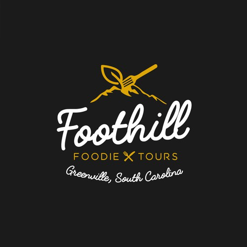Logo for Foothill Foodie Tours