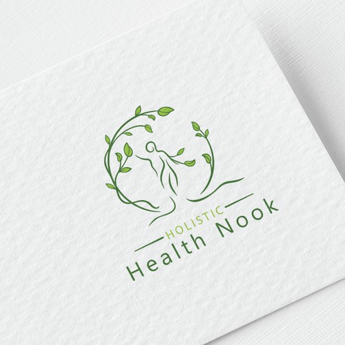 Logo for holistic health business