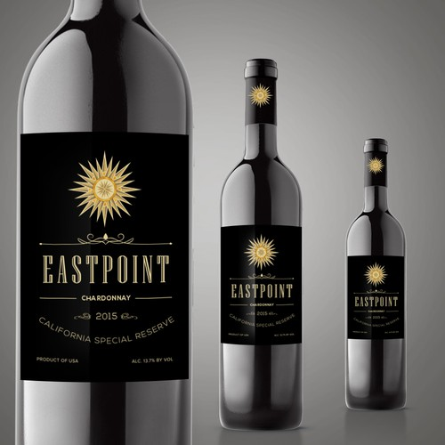 Wine Logo and Bottle Label Design
