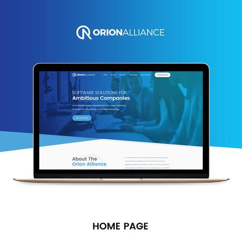 Software solution website design
