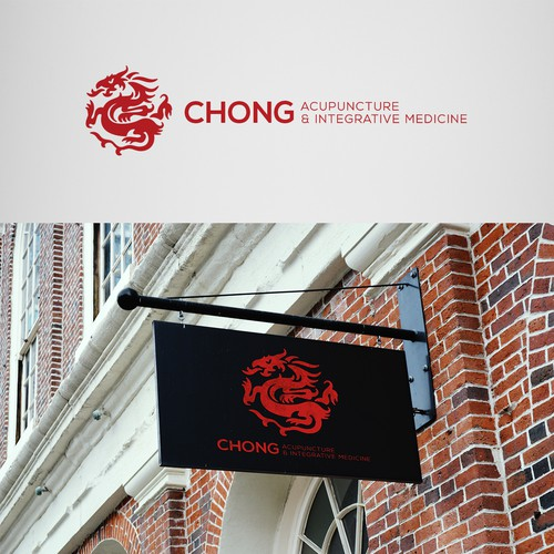Logo concept for acupuncture clinic