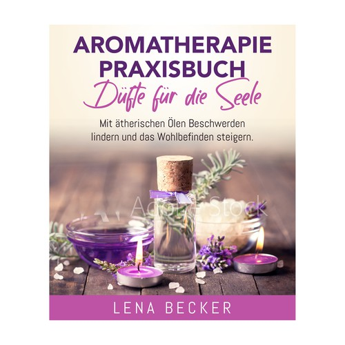 Aromatherapie Ebook Cover Design