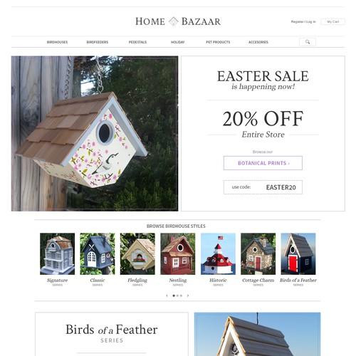 Birdhouse & Pet Accessories Website
