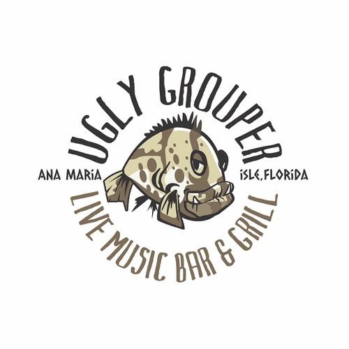 Ugly Grouper Logo