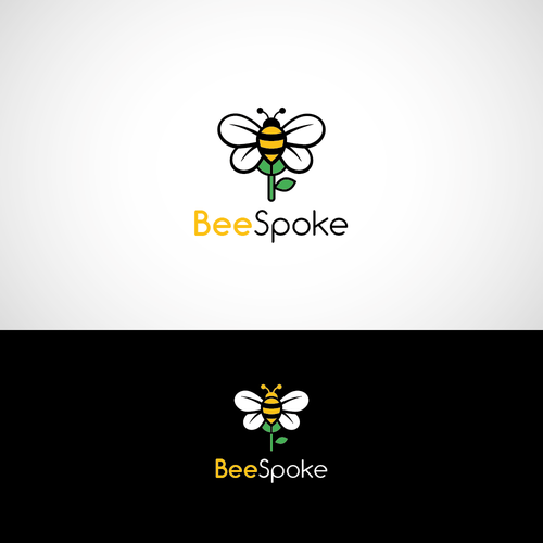Bold logo for Flower Business