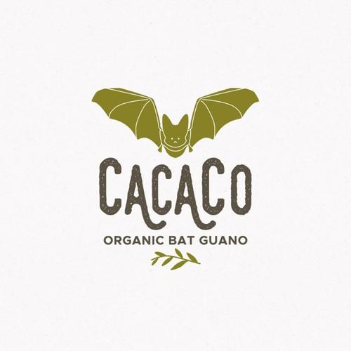 Logo for fertilizer company which imports organic bat guano