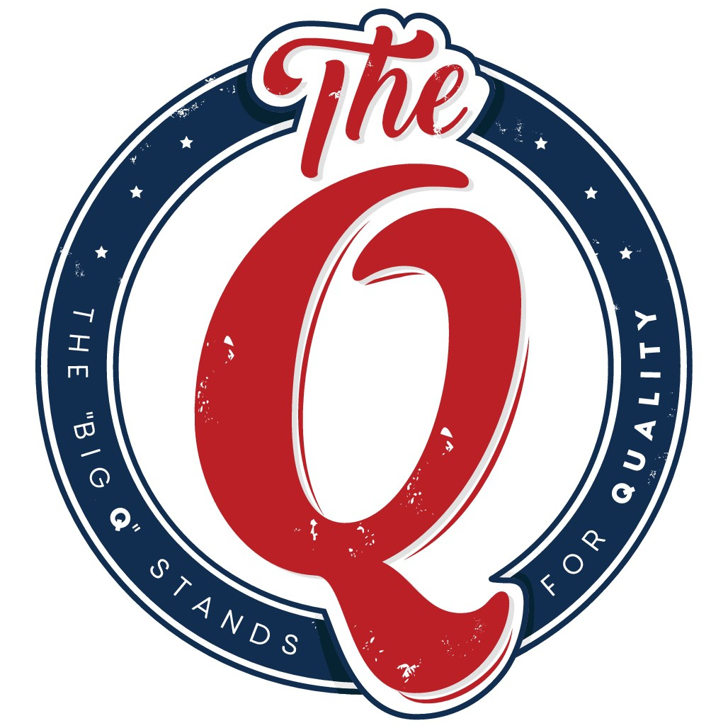 "Create a vintage logo for our Cannabis brand ""The Q"""