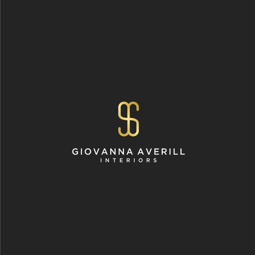 Logo for a small luxury interior design company
