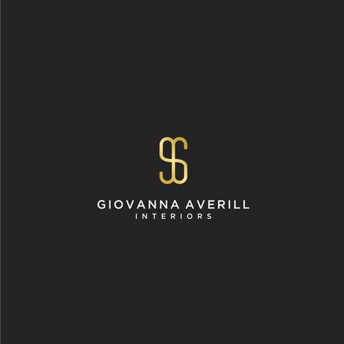 Logo for a small luxury interior design company
