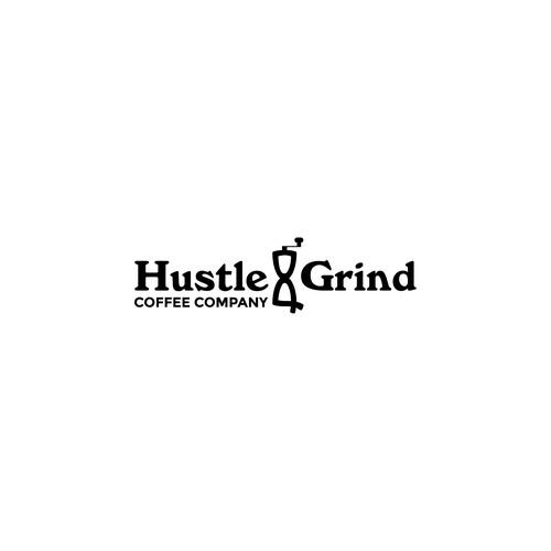 Logo concept for Hustle & Grind