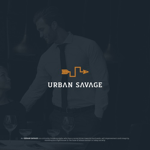 Strong Monogram for the Urban Alpha-Males.