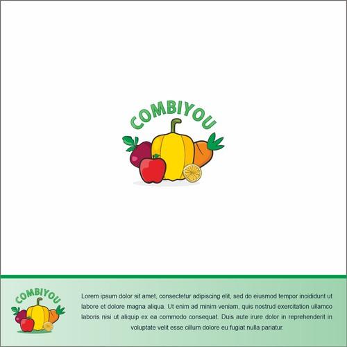 healthy fruit logo