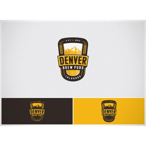 Create the next logo for Denver Brew Pubs