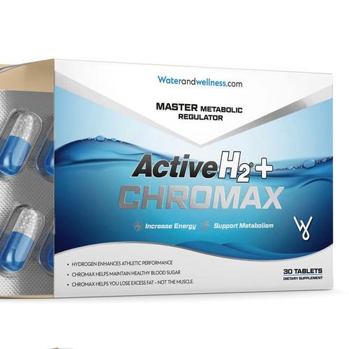 ACTIVE H2 CHROMAX SUPPLEMENT