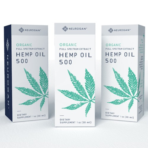 Retail Packaging for CBD Oil