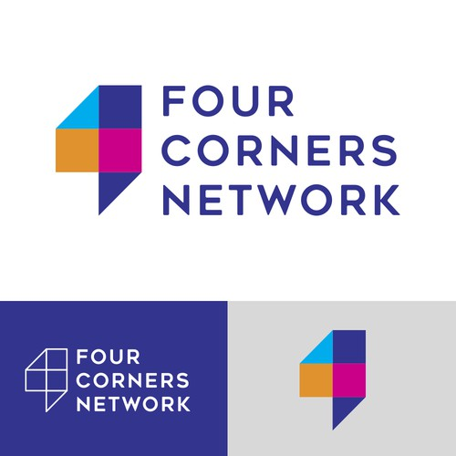 Logo Design for network company