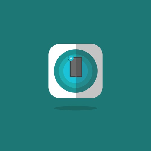 App icon mobile usb conection
