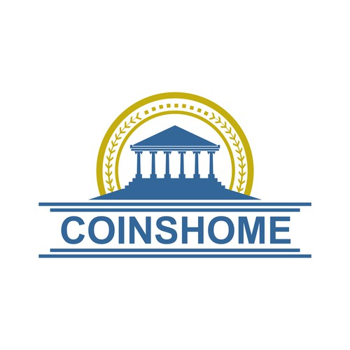 coinshome design logo